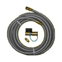 PGS 12' Hose Kit with Q/D Coupler & Shut Off Valve
