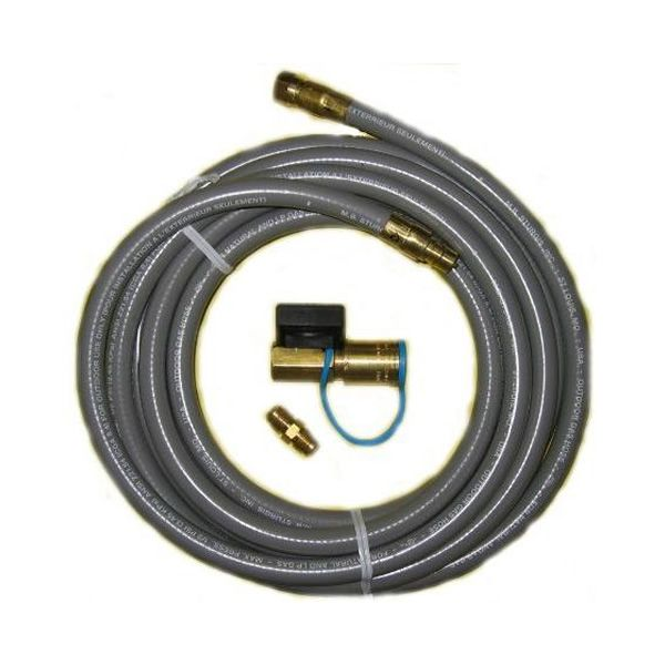 PGS Hose Kit with Q/D Coupler & Shut Off Valve - 12' image number 0