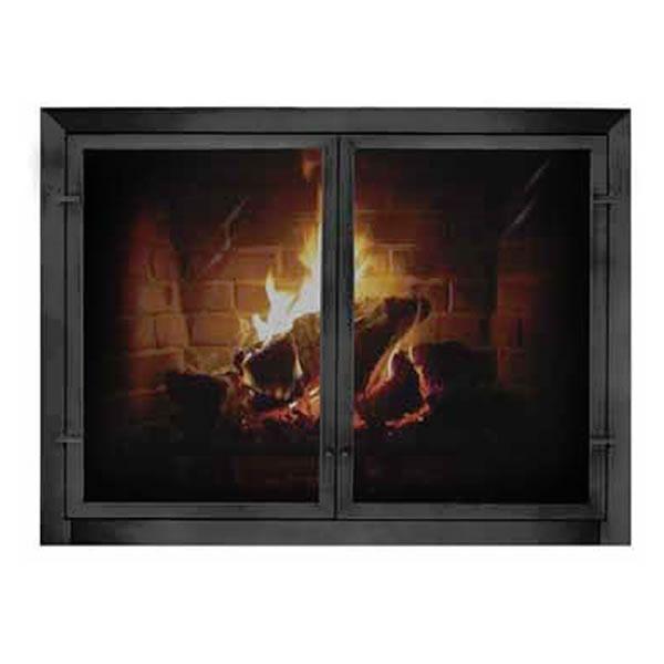 Patio Outdoor Masonry Fireplace Door image number 0