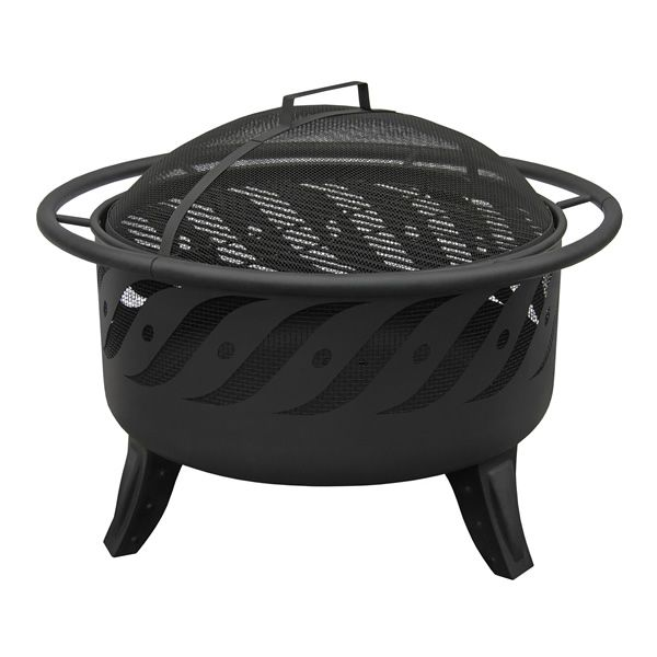 Patio Lights Firewave Fire Pit - Black image number 2