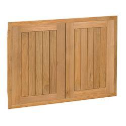 """Pacific Teak Cottage Panel Double Access Door - 30"""""""
