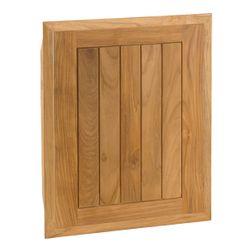 """Pacific Teak Cottage Panel Single Door - 18"""""""