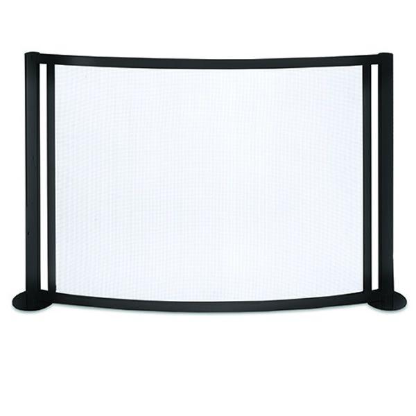 "Panorama Bowed Fireplace Screen - 48"" x 31 1/4"" image number 0"