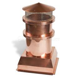 Parisian Copper Chimney Pot