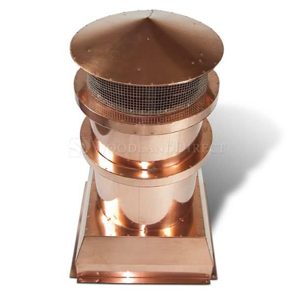 Parisian Copper Chimney Pot image number 1