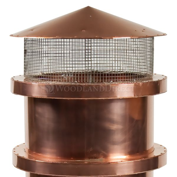 Parisian Copper Chimney Pot image number 2