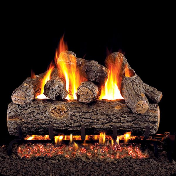 Peterson Real Fyre Oak Designer Plus Vented Gas Log Set image number 0