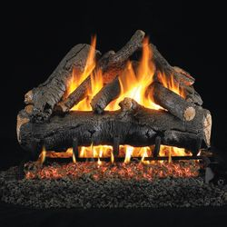 Peterson Real Fyre American Oak Vented Gas Log Set