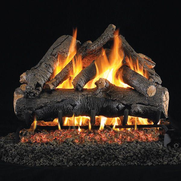 Peterson Real Fyre American Oak Vented Gas Log Set image number 0