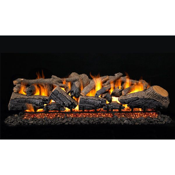 Peterson Real Fyre Charred Majestic Oak Vented Gas Log Set image number 1
