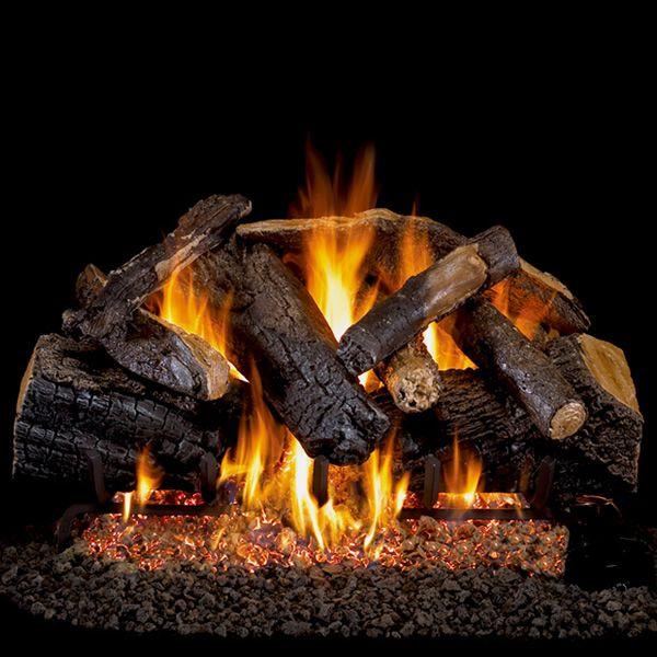Peterson Real Fyre Charred Majestic Oak Vented Gas Log Set image number 0