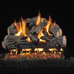 Peterson Real Fyre Charred Northern Oak Vented Gas Log Set
