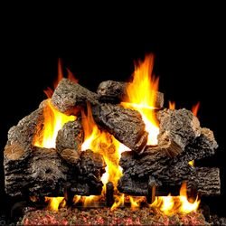 Peterson Real Fyre Charred Royal English Oak Vented Gas Log Set