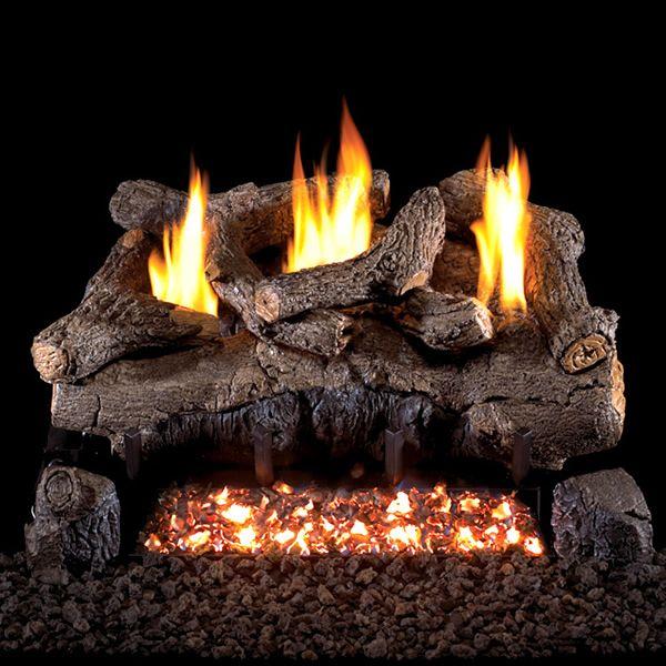 Peterson Real Fyre Evening Fyre Charred Ventless Gas Log Set image number 0