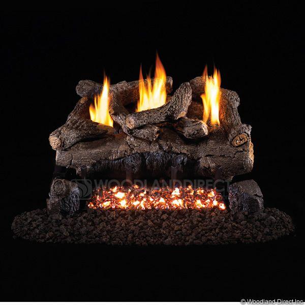 Peterson Real Fyre Evening Fyre Ventless Gas Log Set image number 0
