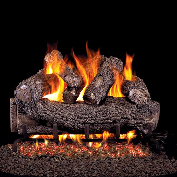 Peterson Real Fyre Forest Oak ANSI Vented Gas Log Set image number 0