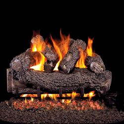 Peterson Real Fyre Forest Oak Vented Gas Log Set