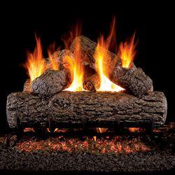 Peterson Real Fyre Golden Oak ANSI Vented Gas Log Set