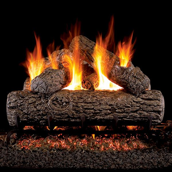 Peterson Real Fyre Golden Oak ANSI Vented Gas Log Set image number 0