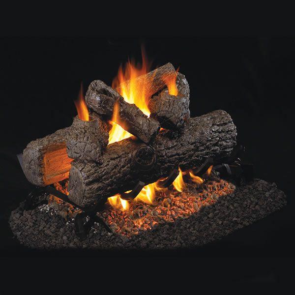 Peterson Real Fyre Golden Oak Designer See Through Vented Gas Log Set image number 0