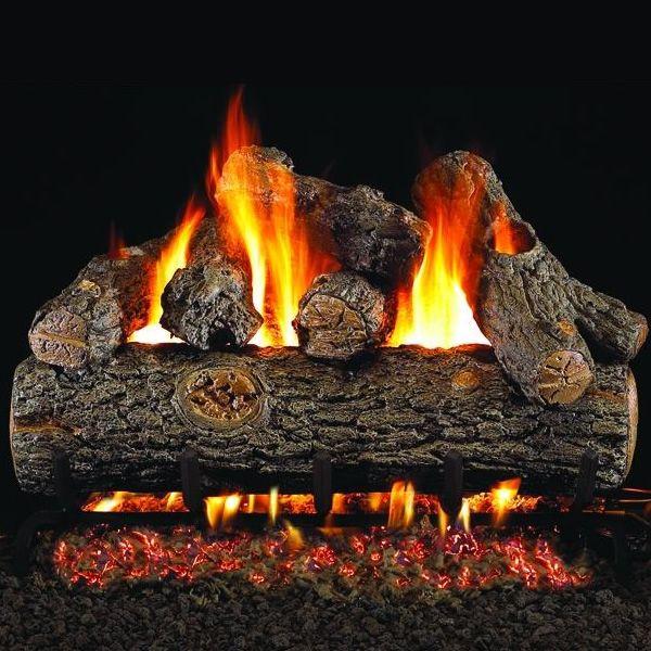 Peterson Real Fyre Golden Oak Designer Plus ANSI Vented Gas Log Set image number 0