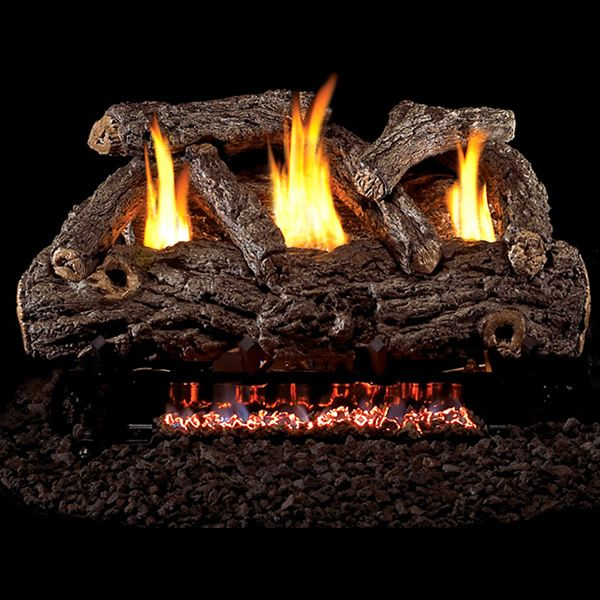 Peterson Real Fyre Golden Oak Designer Ventless Refractory Gas Log Set image number 0