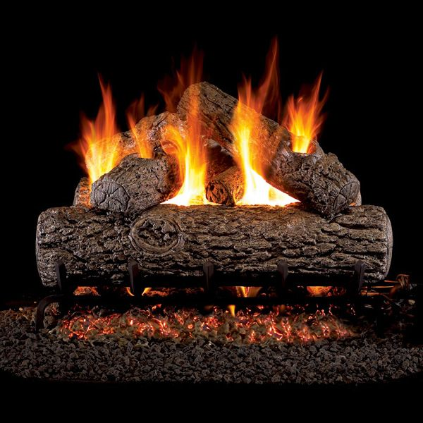 Real Fyre Golden Oak Outdoor Vented Gas Log Set image number 0