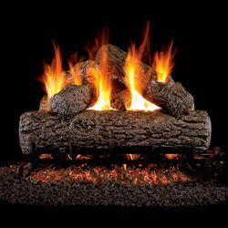 Peterson Real Fyre Golden Oak Vented Gas Log Set