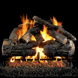 Peterson Real Fyre Pioneer Oak Vented Gas Log Set