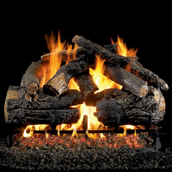 Peterson Real Fyre Pioneer Oak Vented Gas Log Set image number 0