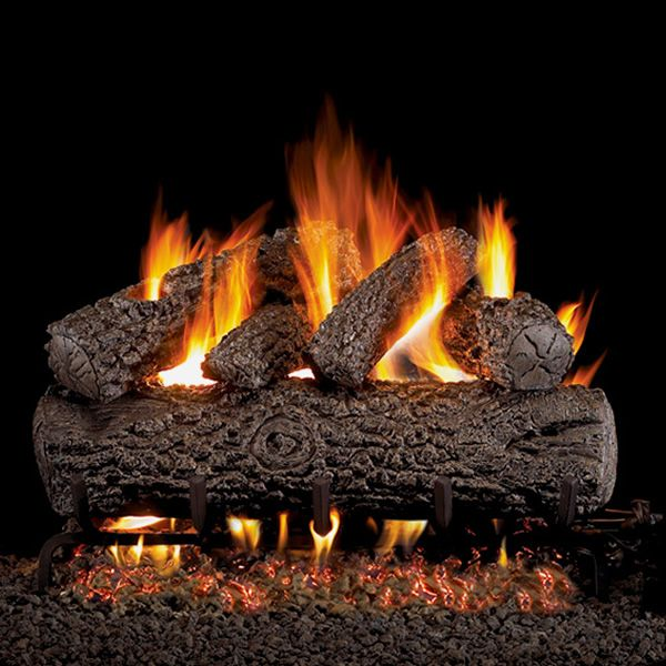 Peterson Real Fyre Post Oak Vented Gas Log Set image number 0