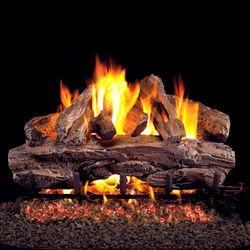 Peterson Real Fyre Red Oak Vented Gas Log Set