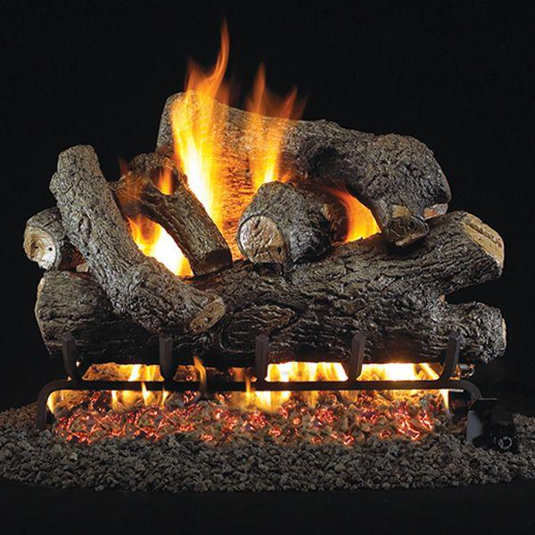 Peterson Real Fyre Royal English Oak Designer Vented Gas Log Set image number 0