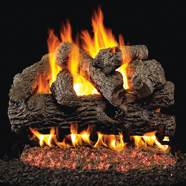 Peterson Real Fyre Royal English Oak Vented Gas Log Set image number 0