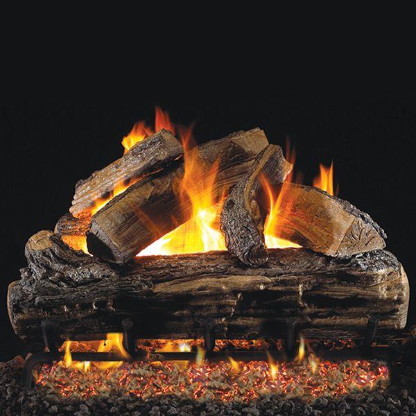Peterson Real Fyre Split Oak Vented Gas Log Set image number 0