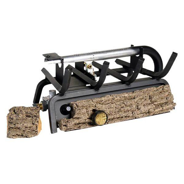 Peterson Real Fyre Valley Oak Ventless Refractory Gas Log Set image number 1