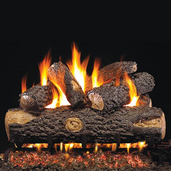 Peterson Real Fyre Woodland Oak ANSI Vented Gas Log Set image number 0