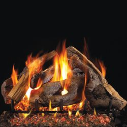 Peterson Real Fyre Woodstack Vented Gas Log Set