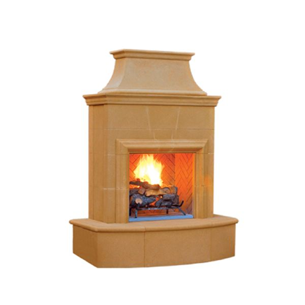 Petite Cordova Vent Free Outdoor Gas Fireplace image number 1