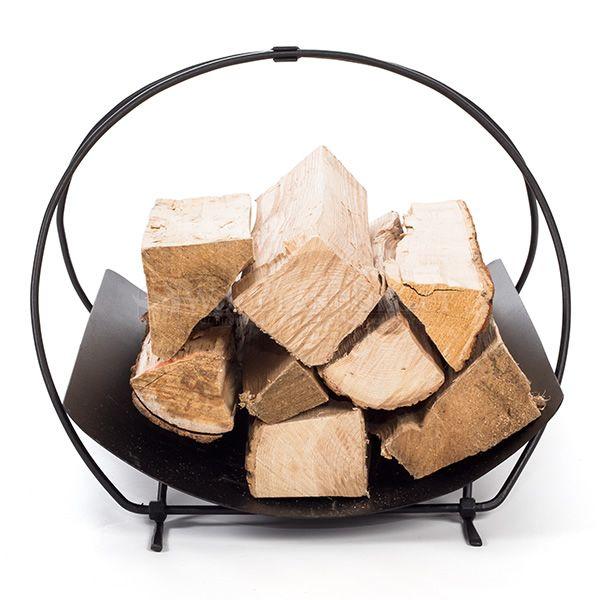 Minuteman Petite Panier Indoor Firewood Rack image number 1