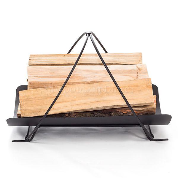 Minuteman Petite Panier Indoor Firewood Rack image number 2