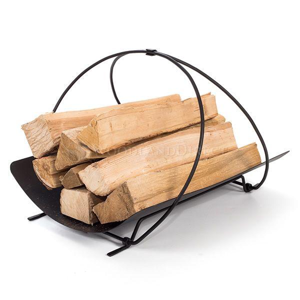 Minuteman Petite Panier Indoor Firewood Rack image number 0