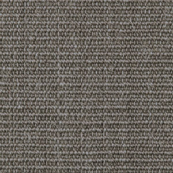 Pewter Grey Sunset Natural Sisal Half Round Rug image number 1