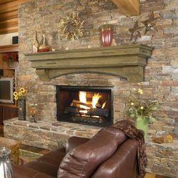 Pearl Celeste Dune Fireplace Mantel Shelf