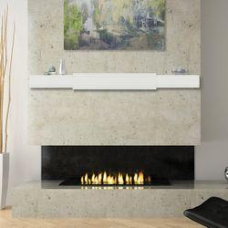 Pearl Emory White Adjustable Fireplace Mantel Shelf
