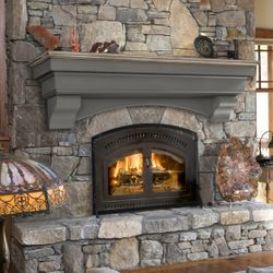 Pearl Hadley Cottage Fireplace Mantel Shelf