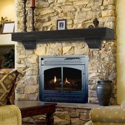 Pearl Shenandoah Espresso Fireplace Mantel Shelf