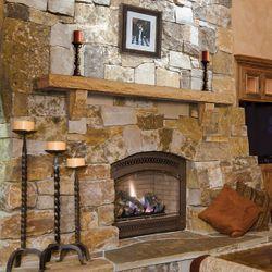 Pearl Pearl Safari Cast Stone Fireplace Mantel Shelf