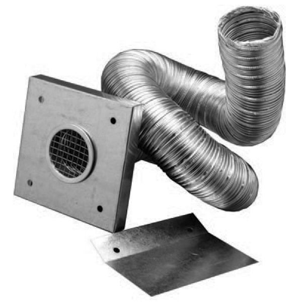 "3"" Diameter PelletVent Pro Fresh Air Intake Kit image number 0"