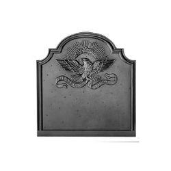 Pennsylvania Firebacks American Eagle Cast Iron Fireback